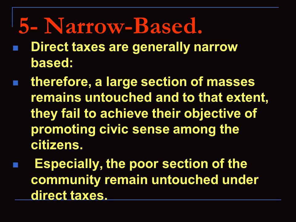 5- Narrow-Based.