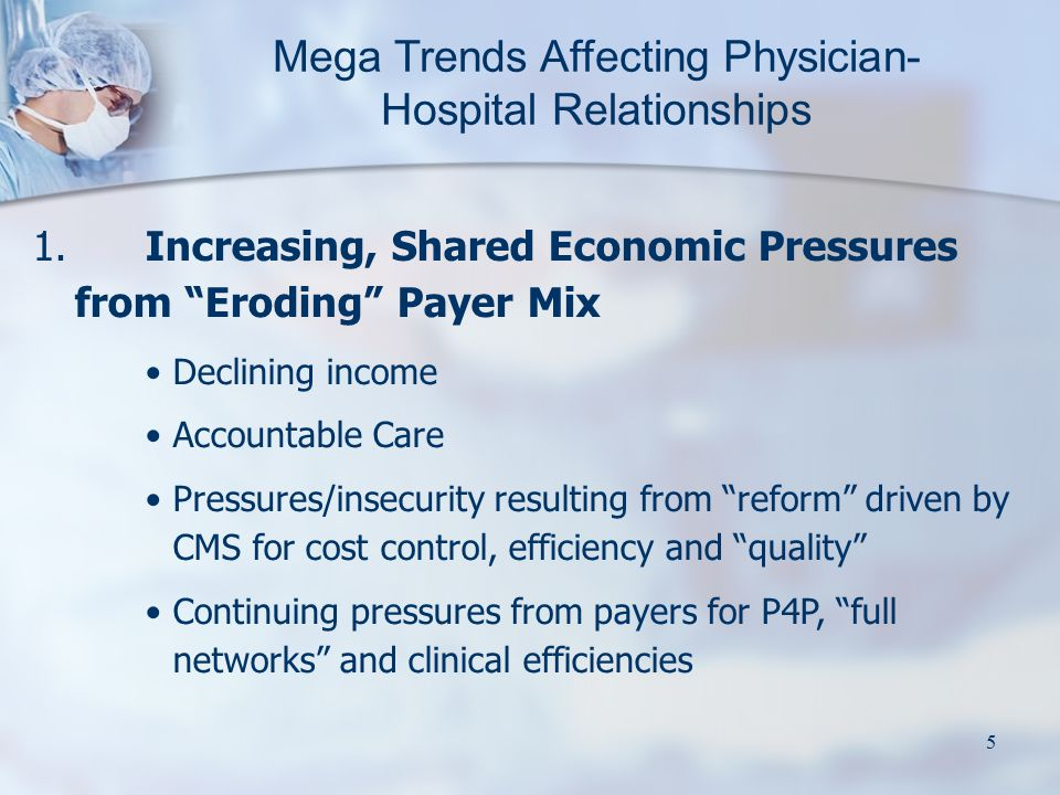 16 Model 9C: Physician Enterprise Model (PEM) Physician Practice Physicians as Practice Owners Pod Physician Practice Pod Physicians as Employees Practice Support Agreement Payer $ Hospital Payers Board of Directors Physician Services Hospital Physicians