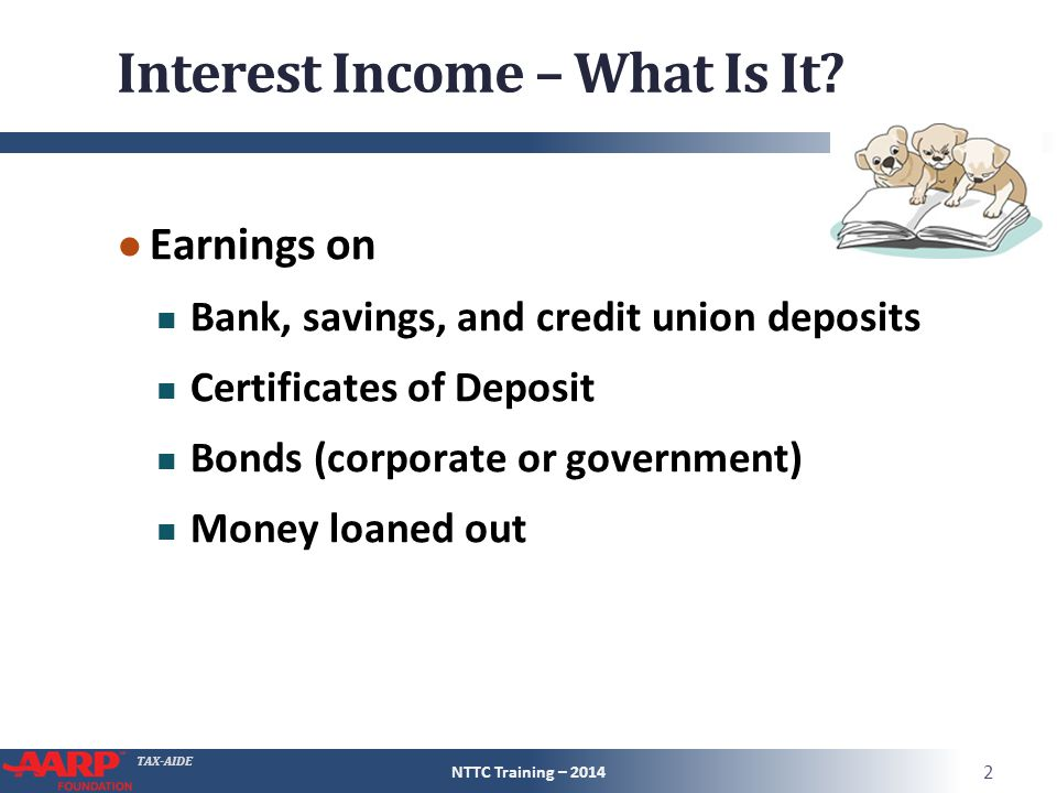TAX-AIDE Dividend Income 1099-DIV ● 1a Ordinary dividends 1b Qualified dividends – a subset of ordinary dividends ● 2a Capital gain distributions 2b §1250 gain – a subset of capital gain distribution 2d 28% gain – a subset of capital gain distribution NTTC Training – 2014 33