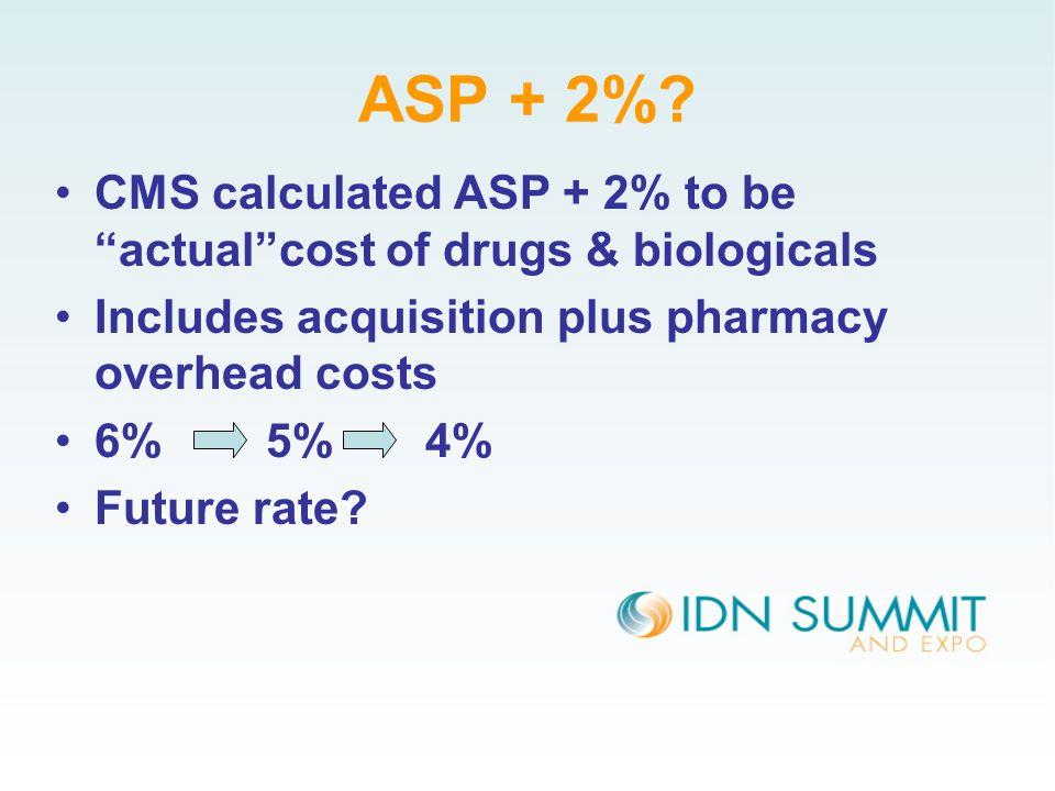 ASP + 2%.