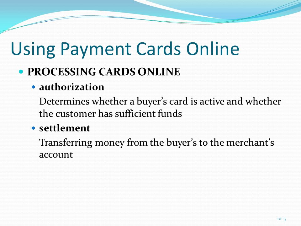 E-Checking e-check A legally valid electronic version or representation of a paper check Automated Clearing House (ACH) Network A nationwide batch-oriented electronic funds transfer system that provides for the interbank clearing of electronic payments for participating financial institutions 10-16