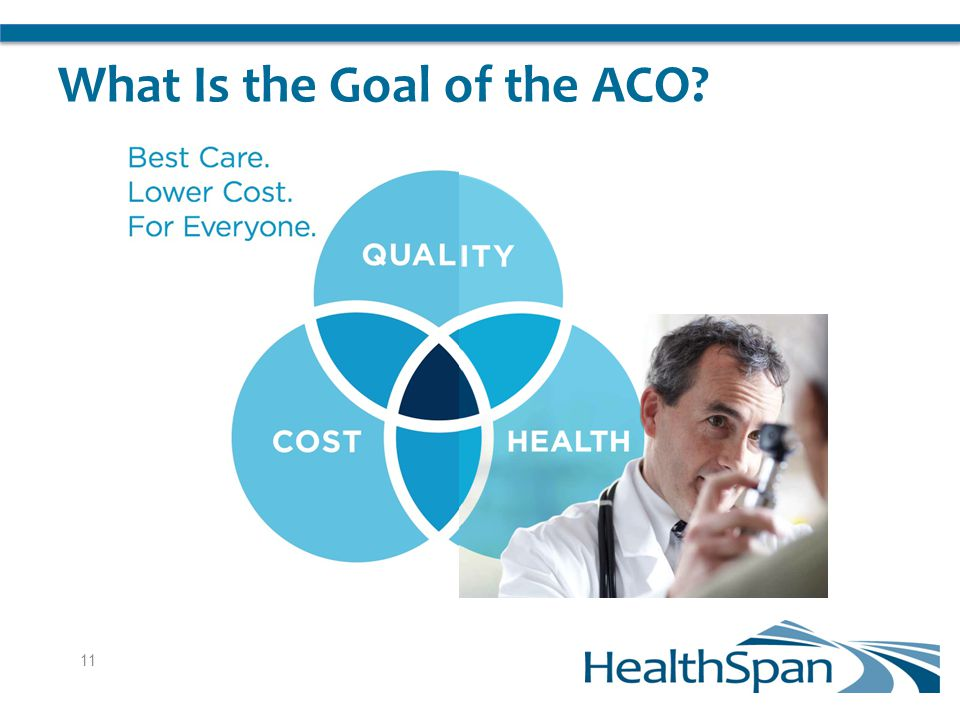 What Is the Goal of the ACO 11