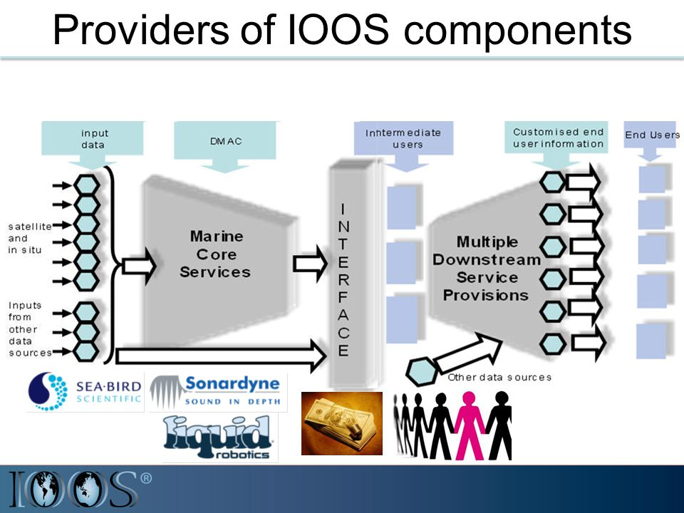 Providers of IOOS components