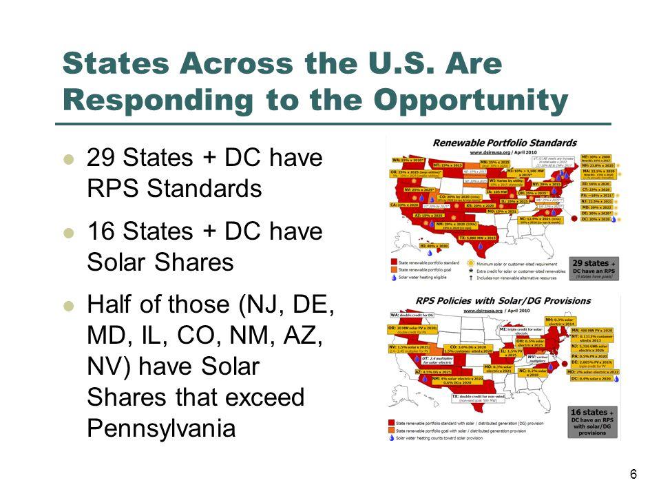 States Across the U.S.