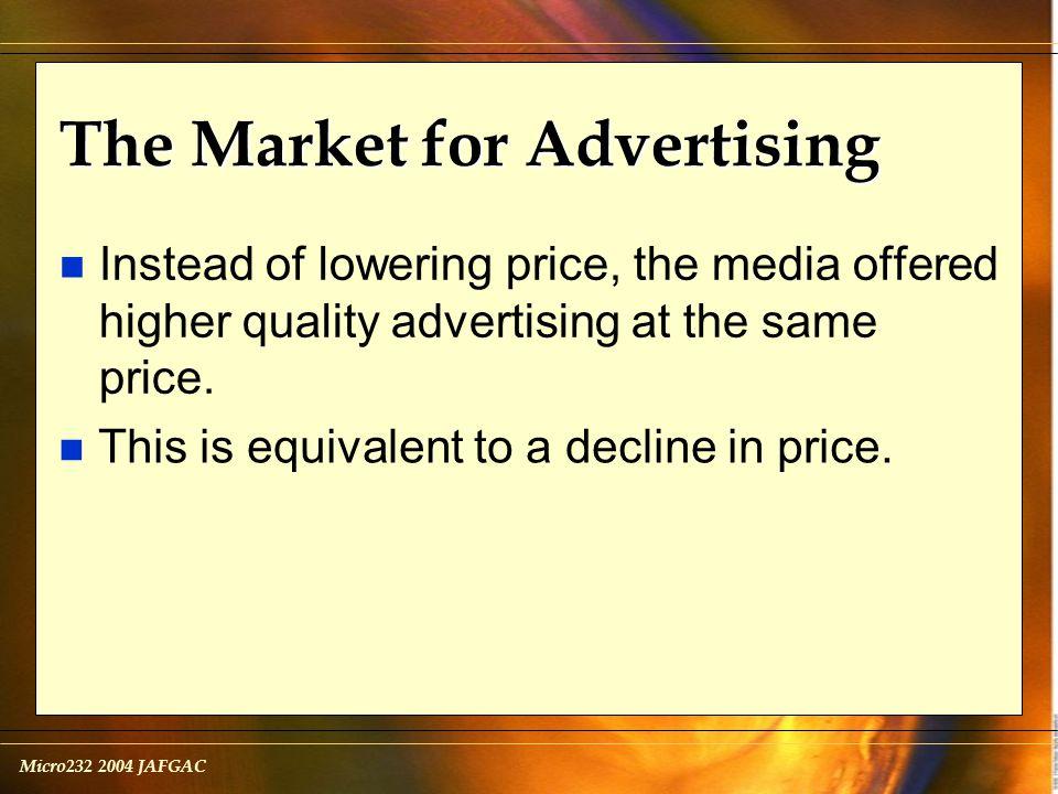 Micro232 2004 JAFGAC Minimum Wage n The minimum wage is an example of a price floor.