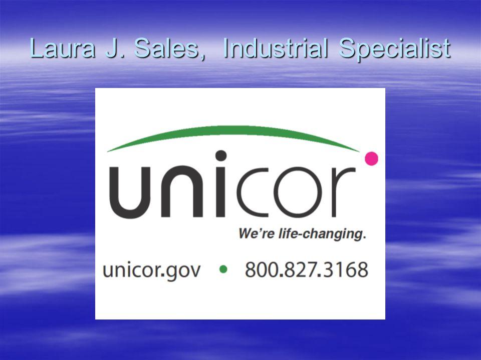 Laura J. Sales, Industrial Specialist