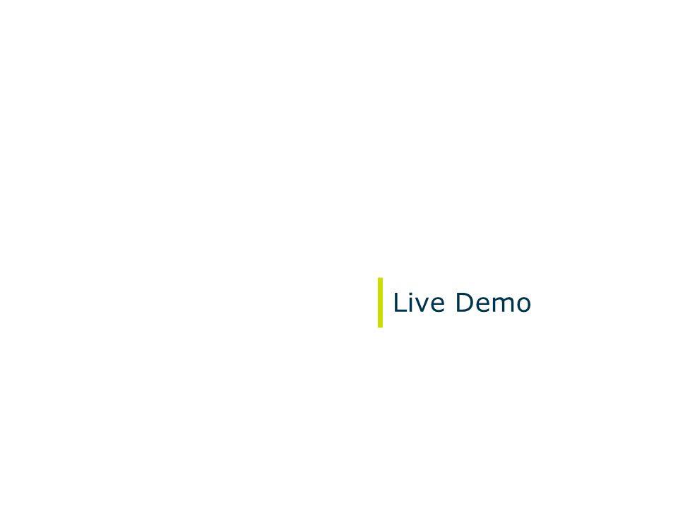 May 2008 Live Demo