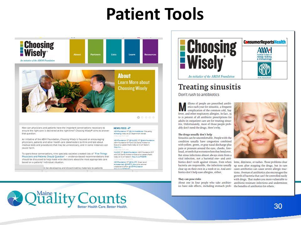 Patient Tools 30