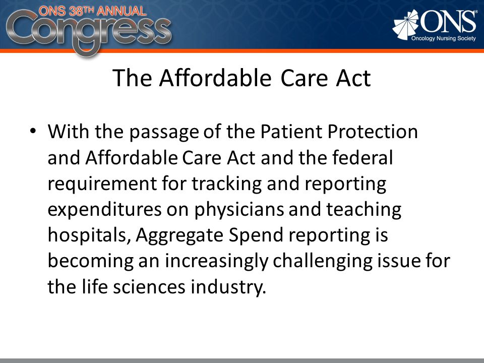 6 National Law Coming in 2014 Patient Protection and Affordable Care Act and Health Care Reform and Education Act Require coverage of routine patient care costs starting in 2014.