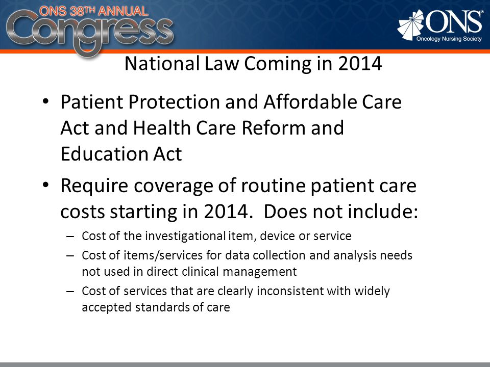 7 National Law Coming in 2014 Applies to group health plans and health insurance issuers offering group or individual coverage for plan years beginning on or after January 1, 2014 Exception: does not apply to grandfathered plans 7