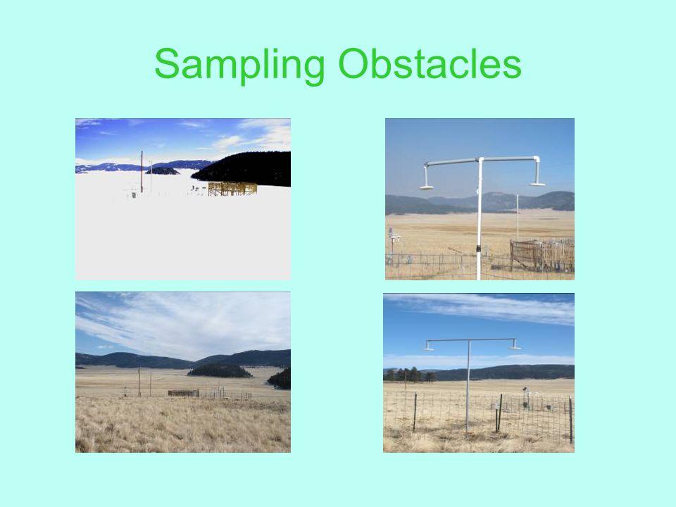 Sampling Obstacles
