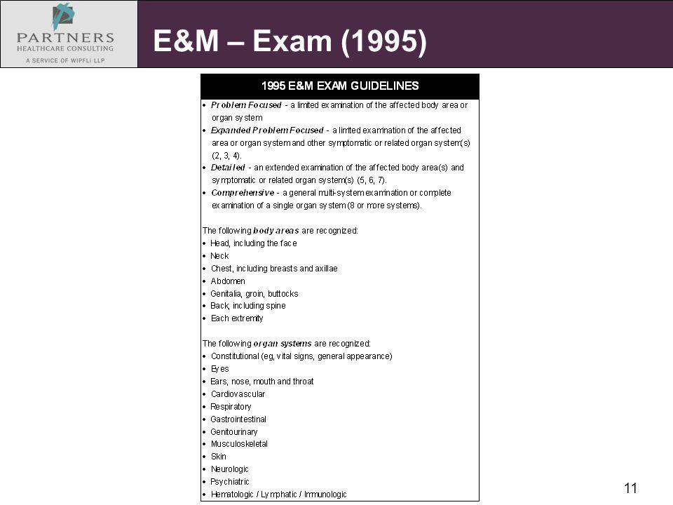 11 E&M – Exam (1995)