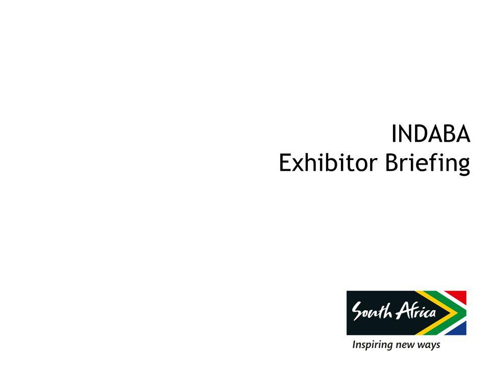 INDABA Exhibitor Briefing
