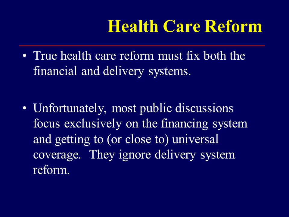 Single Payer Medicare, which provides near-universal coverage to U.S.