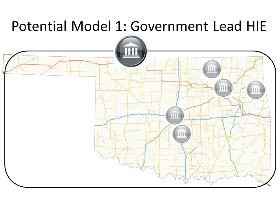 Potential Model 1: Government Lead HIE