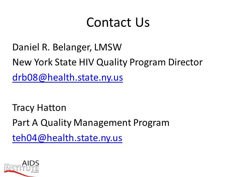 Contact Us Daniel R.