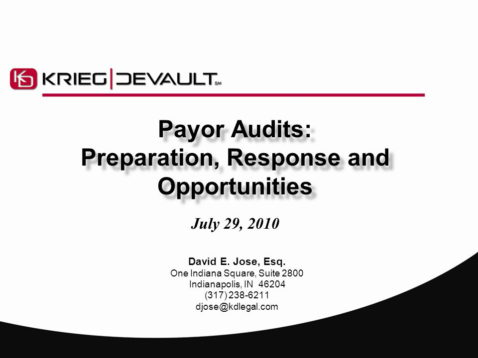 Audits: Here, There and Everywhere  External audits increasingly common  Use of audits as mechanism to recoup overpayments , but other purposes and consequences  Financial, regulatory and criminal penalties associated with billing errors