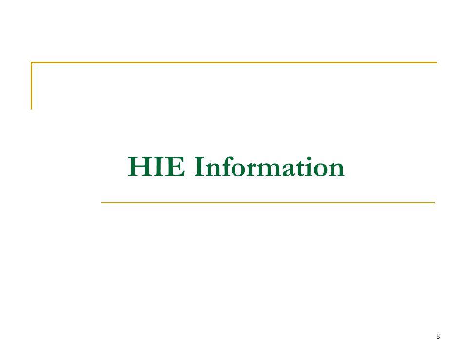 8 HIE Information