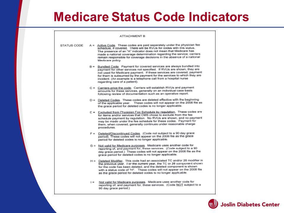 Medicare Status Code Indicators