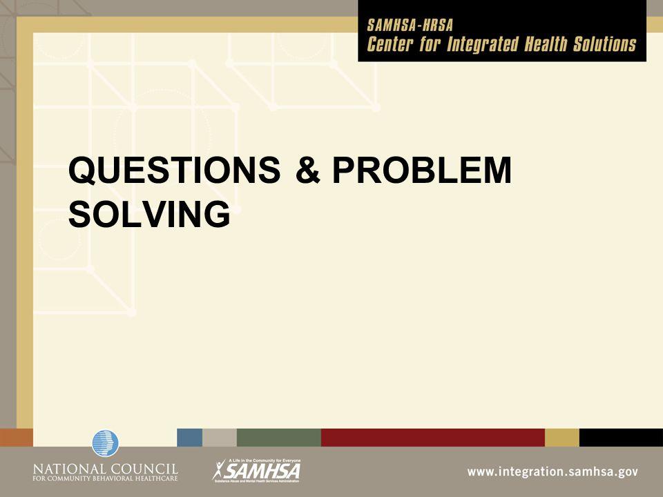 QUESTIONS & PROBLEM SOLVING