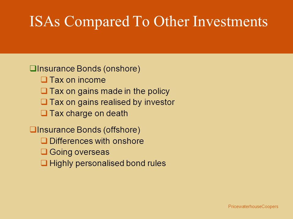 PricewaterhouseCoopers How Attractive Are ISAs.