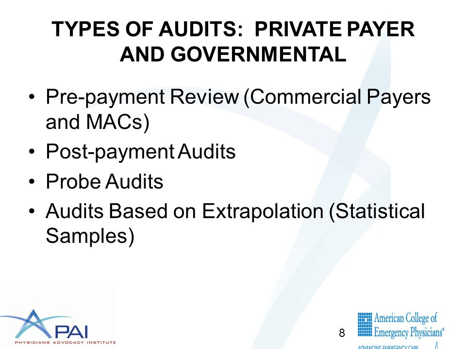 Roles of Various Medicare Improper Payment Review Entities 9 Types of Claims How Selected Volume of Claims Type of ReviewPurpose of Review Other Function s QIO Inpatien t Hospital Claims Only All claims where hospital submits an adjusted claim for a higher-weighted DRG Expedited Coverage Reviews requested by beneficiaries Very small Prepay & Concurrent (Patient still in hospital) Complex Only To prevent improper payments through DRG upcoding To resolve discharge disputes between beneficiary and hospital Quality Reviews CERT* All Medical Claims RandomlySmall Postpay only Complex only To measure improper payments None PERM* All Medical Claims Rando mly RandomlySmall Postpay only Automated & Complex To measure improper payments None Medical Review Units* at MACs All Medicar e FFS Claims Targeted Depends on number of claims with possible improper payments for this provider Prepay & Postpay Automated & Complex To prevent future improper payments Educatio n Appeals Medicare Recovery Auditors* All Medicar e FFS Claims Targeted Depends on number of potentially fraudulent claims submitted by provider Prepay & Postpay Automated & Complex To detect and correct past improper payments None PSC/ZPICS All Medicar e FFS Claims Targeted Depends on number of claims with fraudulent claims submitted by provider Prepay & Postpay Automated & Complex To identify potential fraud ---- OIG All Claims Targeted Depends on number of potentially fraudulent claims submitted by provider Postpay Completx To identify fraud---- *Overseen by OFM/PCG