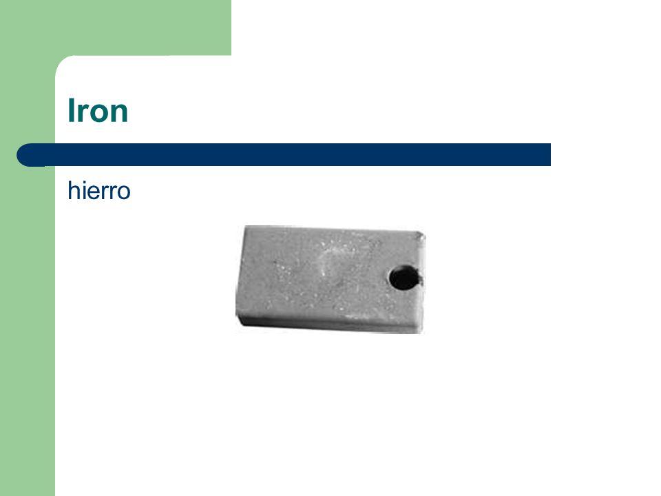 Iron hierro
