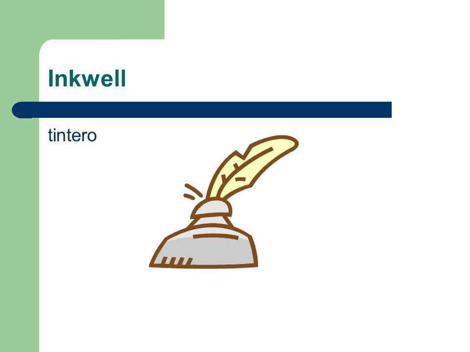 Inkwell tintero