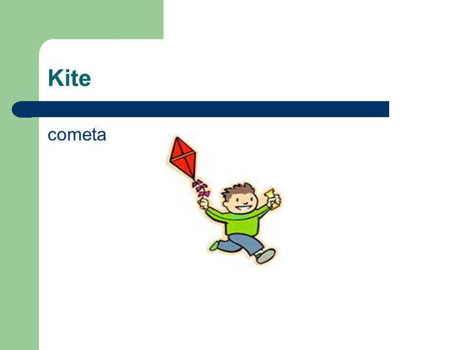 Kite cometa