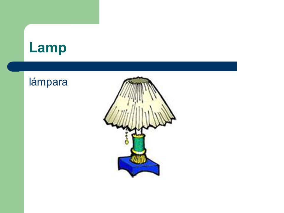 Lamp lámpara