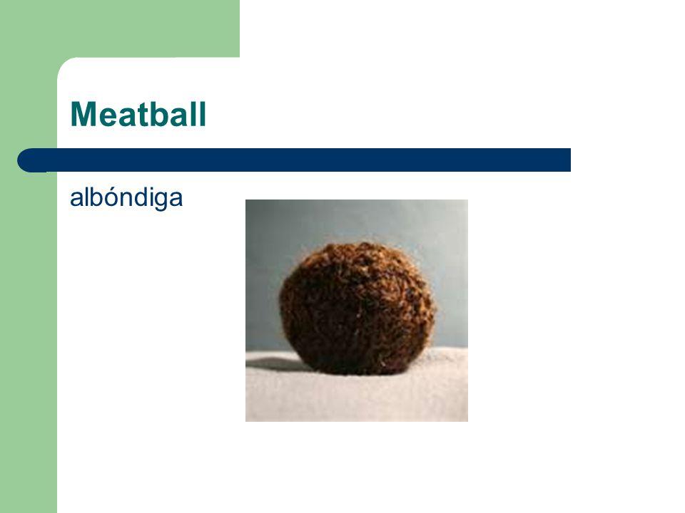 Meatball albóndiga