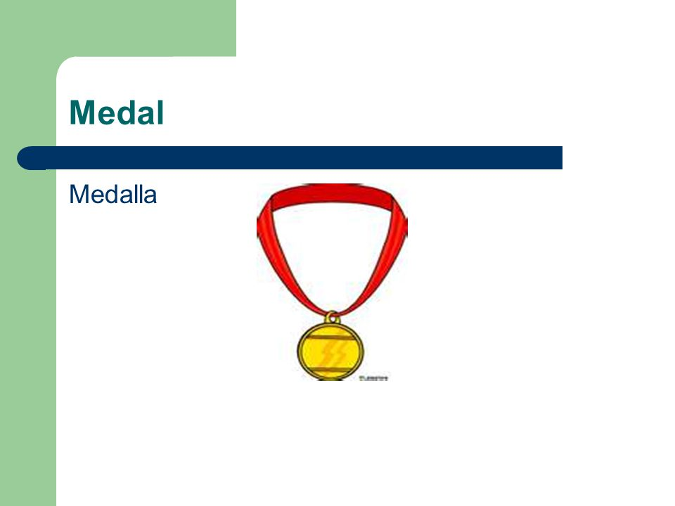 Medal Medalla