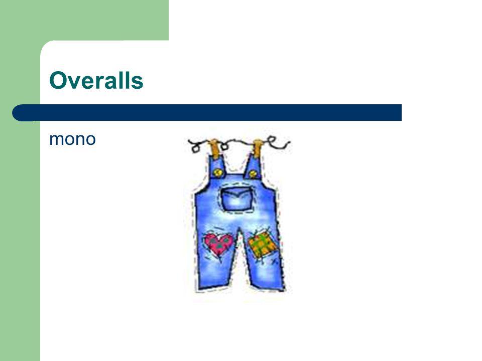 Overalls mono