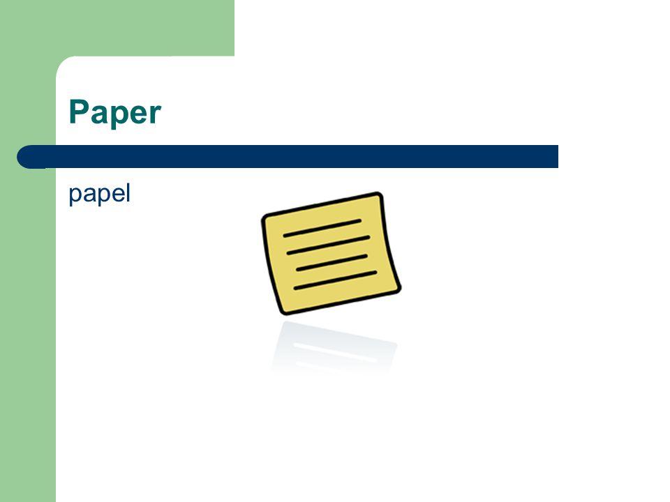 Paper papel