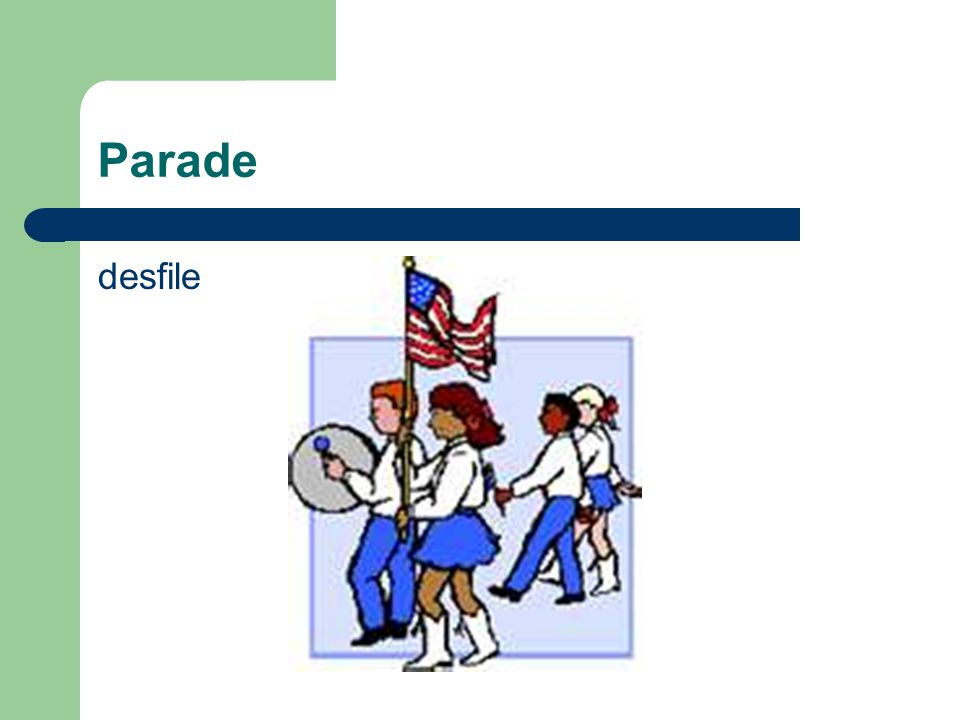 Parade desfile