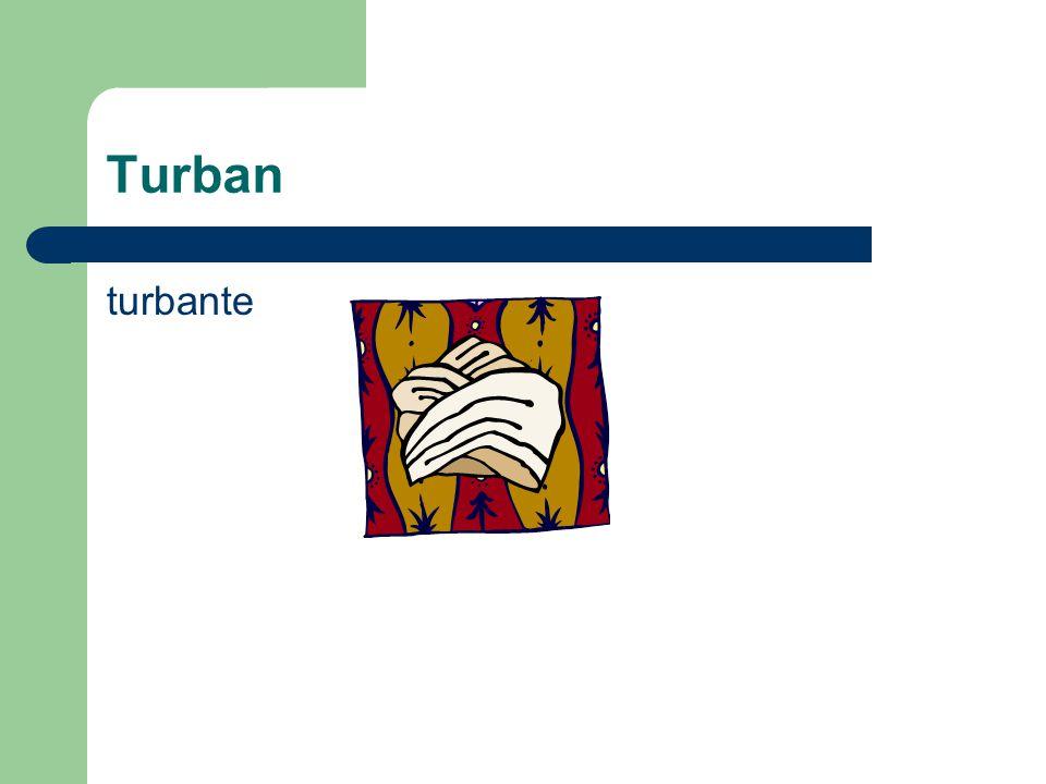 Turban turbante