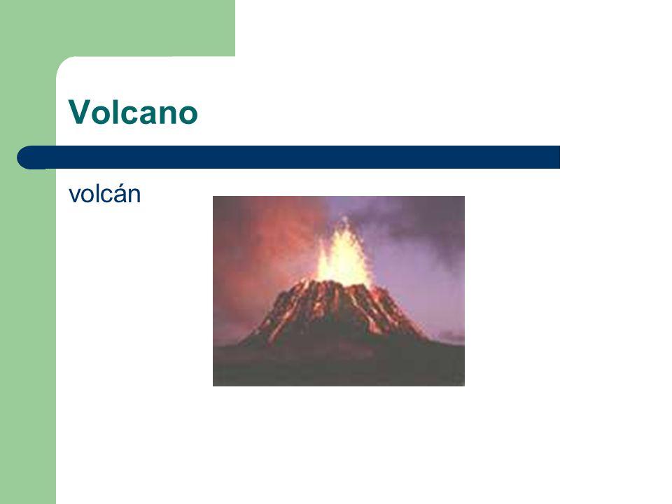 Volcano volcán