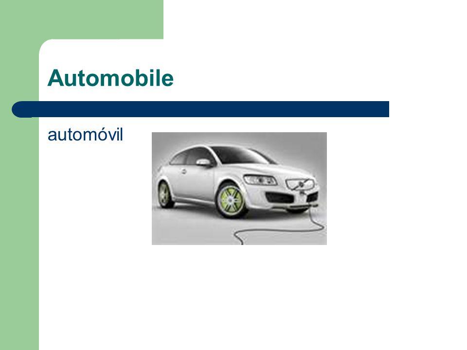 Automobile automóvil