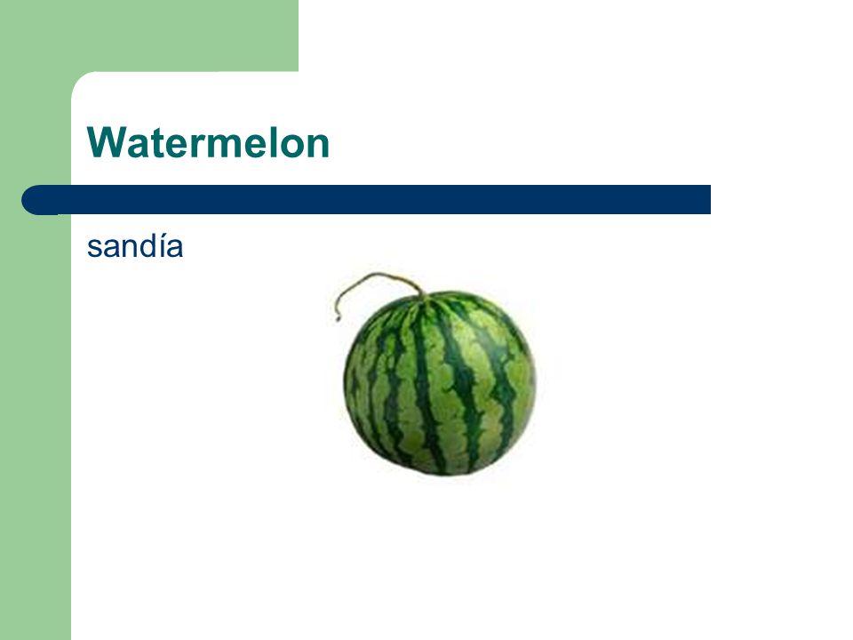 Watermelon sandía
