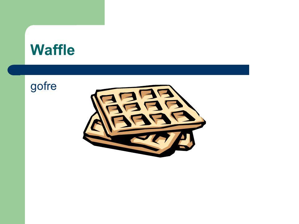 Waffle gofre