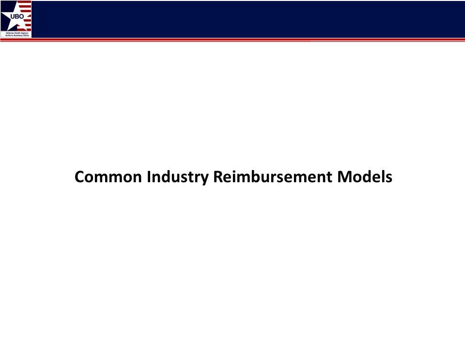 Common Industry Reimbursement Models