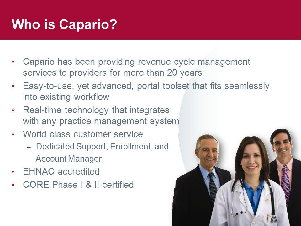 Who is Capario.