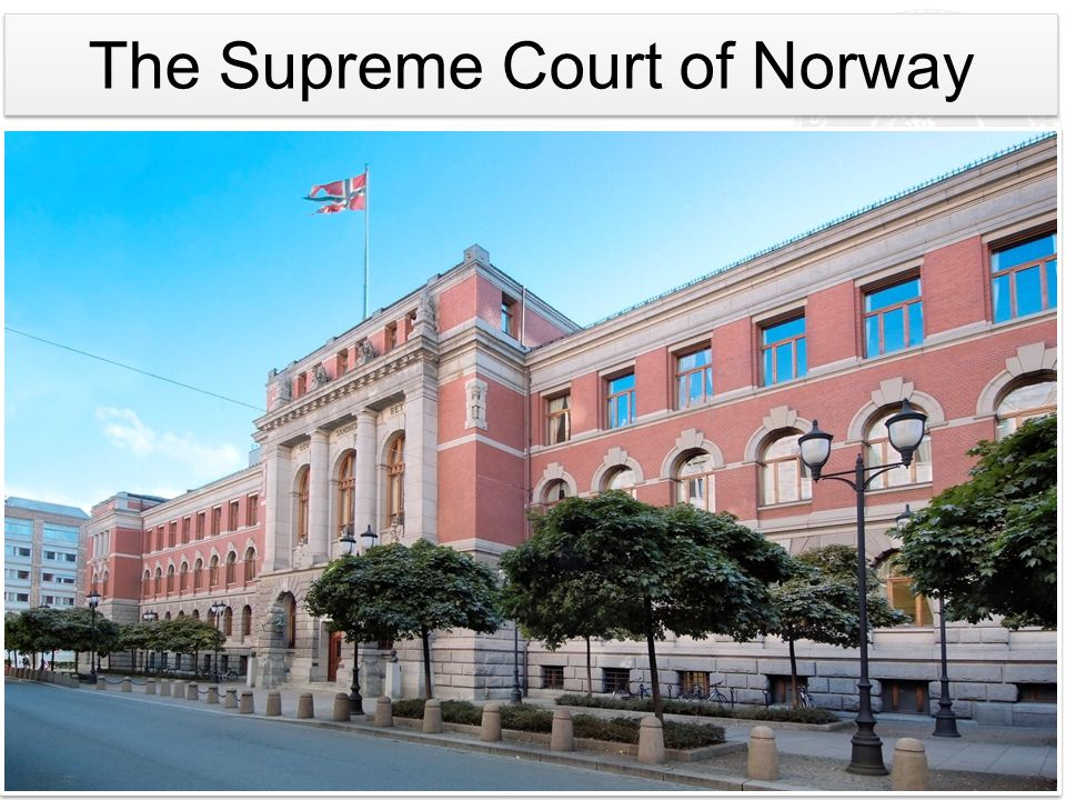 The Supreme Court of Norway