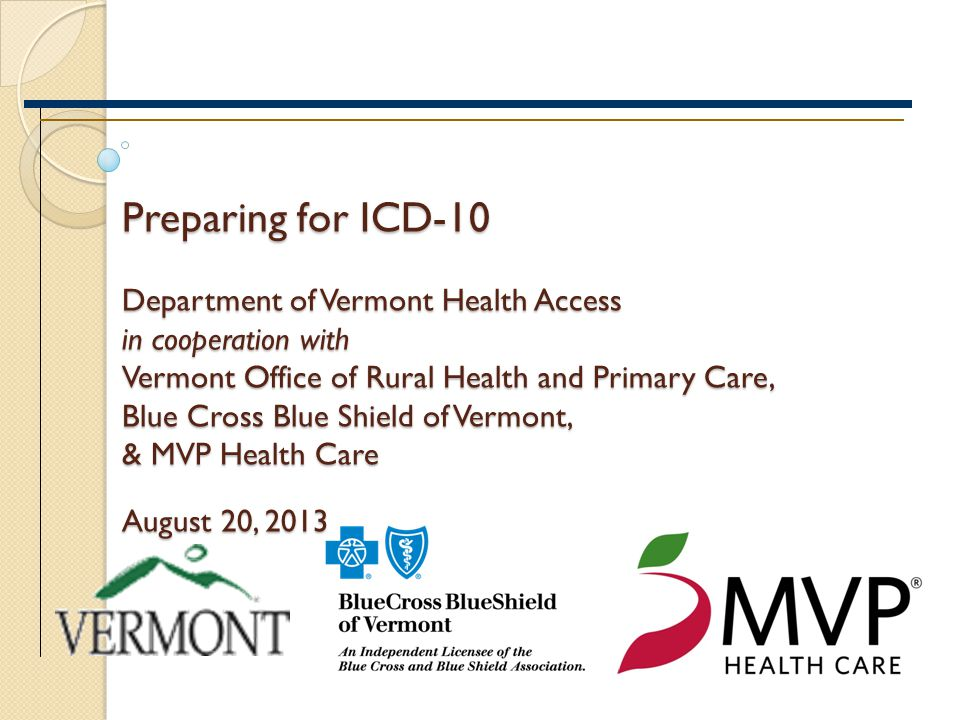 A Roadmap to ICD-10 Implementation 1.Prioritize your impacts by performing a risk-driven, process-oriented assessment 2.Re-think how ICD-10 will financially impact you 3.Take a hard look at your current metrics 4.Engage in open dialogue with key relationships 5.Develop a comprehensive data strategy 6.Educate your staff 7.Conduct testing 8.Plan for contingencies at time of implementation Slide 12