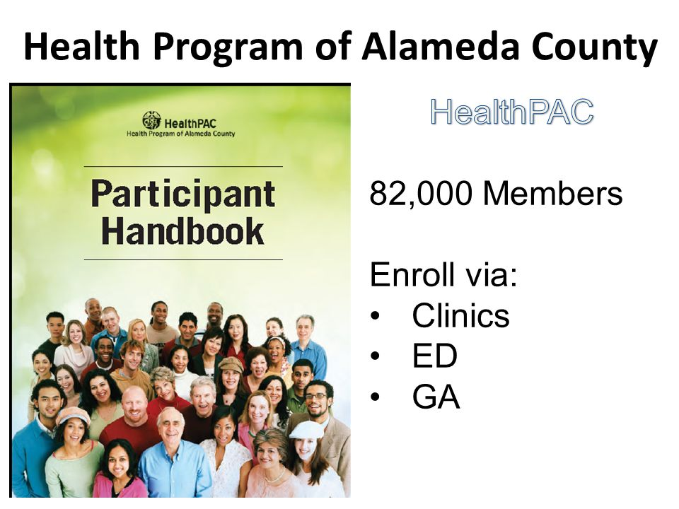 Health Program of Alameda County