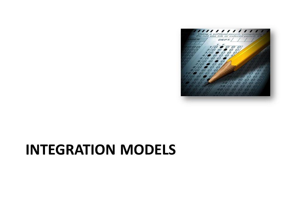 INTEGRATION MODELS