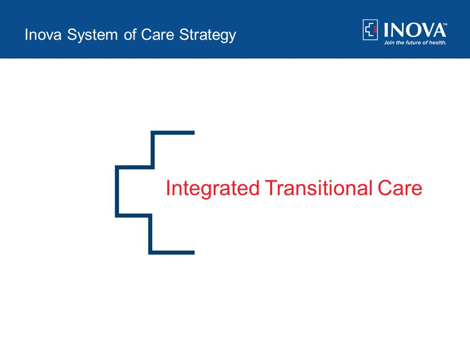 Applying Transition Management Tools to Care for Chronic Patients Vera Dvorak, MD Julie Garcia, MSW, ACM, LNHA Inova January 28-29, 2013 Integrated Tr