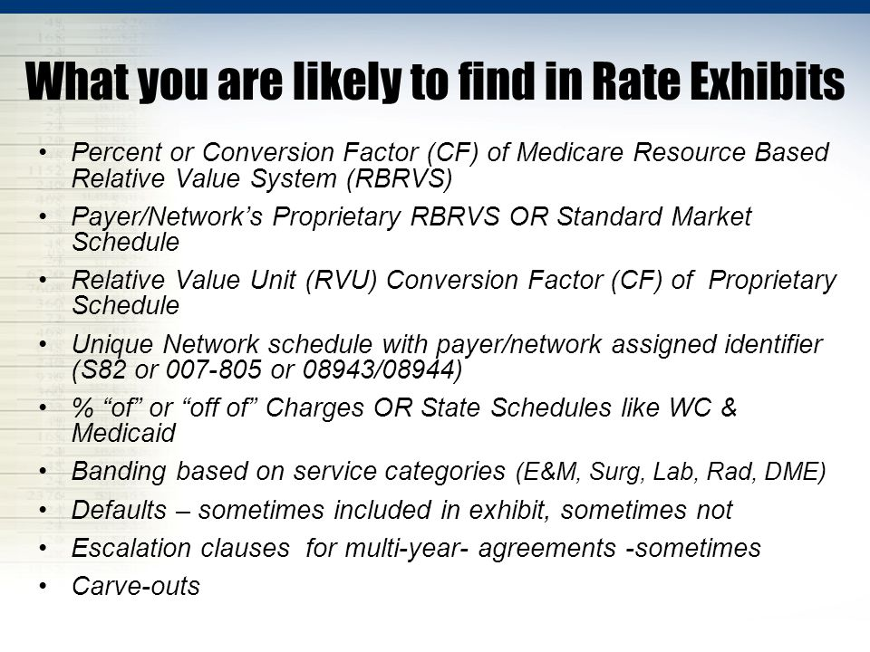 Create a Side-By-Side Line Up Networks, Medicare, Medicaid, WC Best to Include Charges + Aggregate & Payer Specific Utilization Too