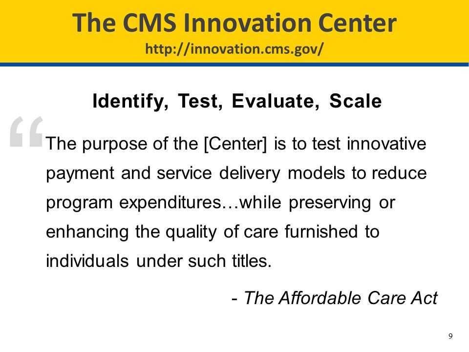 Community-based Care Transitions Program (CCTP) GOALS: Test models for improving care transitions from the hospital to other settings and reducing readmissions for high-risk Medicare beneficiaries Open to community-based organizations partnered with hospitals Currently 102 participants $300 million in total funding Participants in all 10 CMS Regions 20