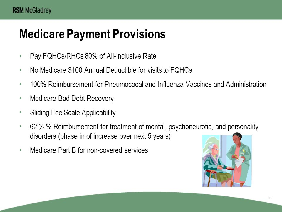 Medicare Cost Principles Social Security Act –§1861(aa)(4) Statutory Requirements –§1833(a)(3) = Payment provisions 1832(a)(2)(D) =Managed Care provis